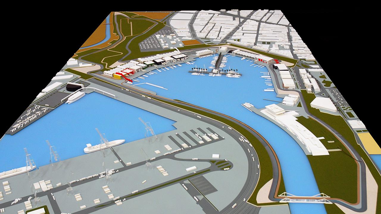Circuito Urbano Valencia : Circuito f maquetas océano naranja valencia